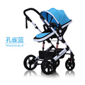 Baby stroller landscape high ultra portable folding baby and push the four round BB car for hand shock in children