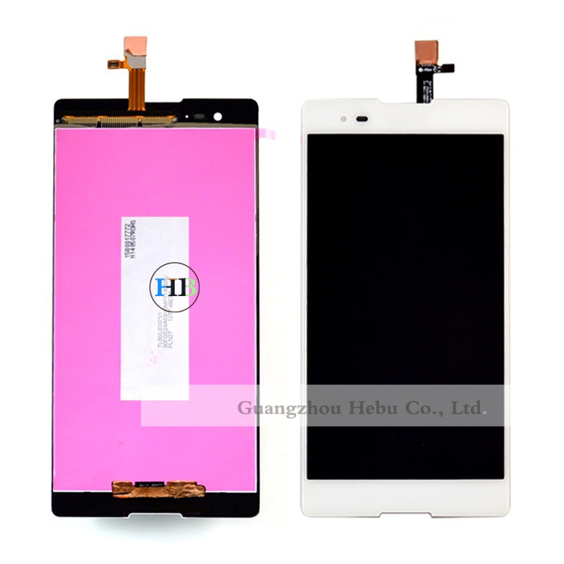 ФОТО Brand New LCD Display For Sony Xperia T2 Ultra Dual D5322 XM50h LCD Display With Digitizer Touch Panel Screen Glass 1pcs