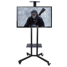 Portable Flat Screen TV Stand Movable Plasma Television Floo