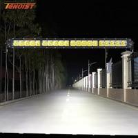 22.5 Inch 100W Front Bumper Grille LED Light Bar For Wrangler Defender Car SUV BUS Truck Offroad ATV UTV 12V 24V