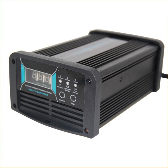 12V 5A/10A/15A 3 IN 1 Current Switchable Car Battery Charger 7-stage Maintenance-free Lead Acid MCU Maintainer Charger it8712f a hxs