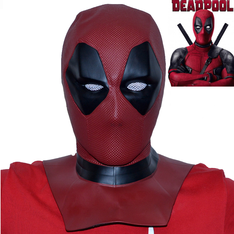 Super-héros Deadpool 2 masque Cosplay Wade Winston Wilson rouge casque intégral adulte accessoires Halloween