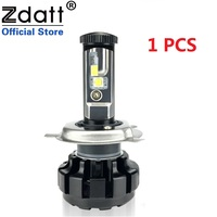 Zdatt 1Pcs 12000LM Car Led Headlights H4 H7 H8 H11 9005 HB3 Canbus Auto Led Bulb Hi Lo Beam 100W/Pair 12V LED Lamp Automobiles