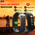 Bluetooth Smart Wristband H28 Smart Bracelet Fitness Heart Rate Monitor Call Reminder OLED Screen Band PK MI BAND 2 FIT BIT