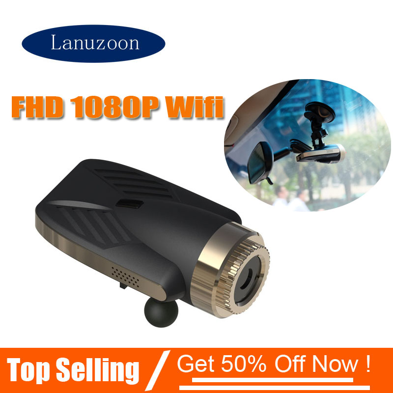 Car DVR Video-Recorder Dash-Cam Night-Vision Full-Hd in 1920x1080