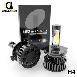 Image 3 - F2 Led Auto Koplamp Led Lamp 9006 HB4 H1 9005 H10 HB3 H4 9003 HB2 H8 H9 H11 H7 4000lm auto Lampen Mistlampen Canbus Dropshipping