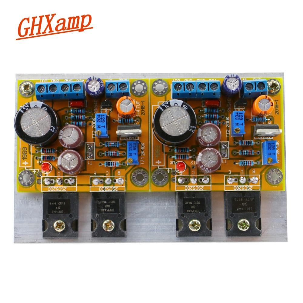 Heim-audio & Video Ghxamp 1969 Mt Fet 1969 Verstärker Bord 30 Watt 30 Watt Hifi 2,0 Stereo Power Audio Verstärker Board Mit Kühlkörper Dc 18 V-35 V 1 Sätze Neue Sorten Werden Nacheinander Vorgestellt