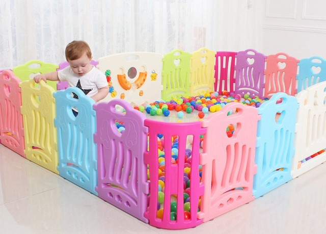 Baby Game Play Fence Indoor Safe Protection For Baby Toddler Baby