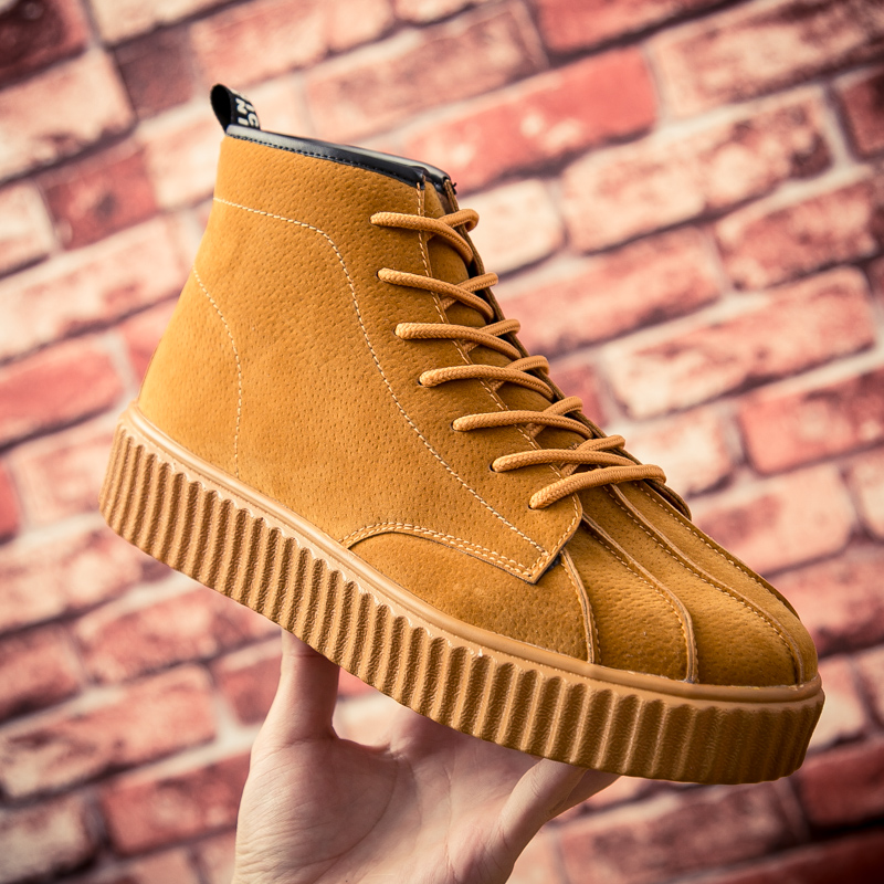 Men Height Increase High Top Sneakers Men Chunky Casual Anti skip Classic trainers Male High Top Comfortable Youth Botas
