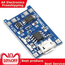 5V ROBOT 1A Micro USB 18650 Lithium Battery Charging Board Charger Module+Protection Dual Functions TP4056(China)