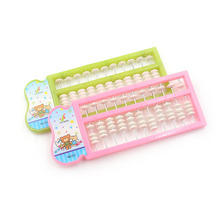 11 Rods Abacus Soroban Beads Caculating Toys Arithmetic Tool Chinese Traditional Abacus Educational Toys Kid's Math Learn Aid цены