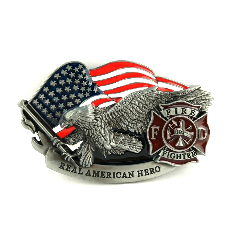 Classic United States Air Force Eagle Belt Buckle for Casual Leather Belt