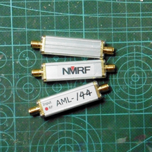 Free shipping AML-144 144MHz coaxial feed RF low noise antenna amplifier LNA 2 pieces free shipping 61 144 1121 03 motor 61 144 1121 for heidelberg offset printing machine