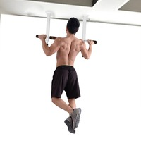 Chin Up Pull Up Bar Indoor Horizontal Bars Heavy Duty Doorway Door Training Fitness Body Build Exerciser Equipment For Home Gym