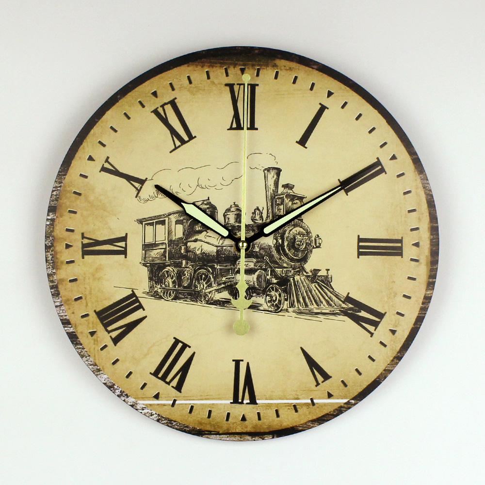 wholesale antique style bedroom decor silent wall clock creative ...