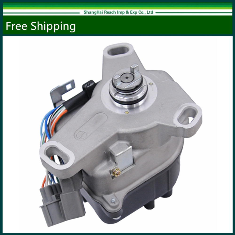 где купить Free shipping New Ignition Distributor For Honda Prelude 1992-1996 TD61U  OE#: 2507-75182 /  250775182 дешево