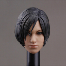 цены 1/6 Ada Wong Head Sculpt with Short Hair For 12