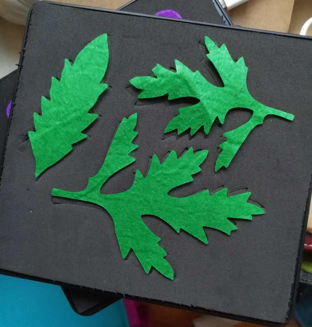 Leafl morrer para o papel e quilting artesanato 15.8 milímetros de espessura 5.5x6 polegada SMR-FL0038