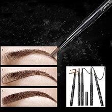 1Pc Rotatable Waterproof Eyeliner Eyebrow Eye Brow Pencil Makeup Cosmetic Pen Long-lasting Natural Eyebrow Pencil