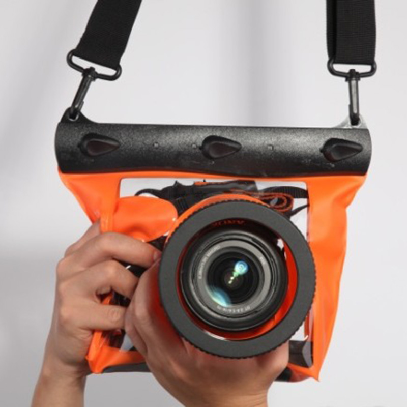 High Quality Waterproof Underwater Bag Case HD Universal Photographic Protect For SLR/DSLR Camera