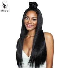 Alibd 360 фронтальный парик шнурка предварительно сорвал с волосами младенца перуанские человеческие волосы из швейцарского кружева для парика remy волосы передний парик для черной женщины