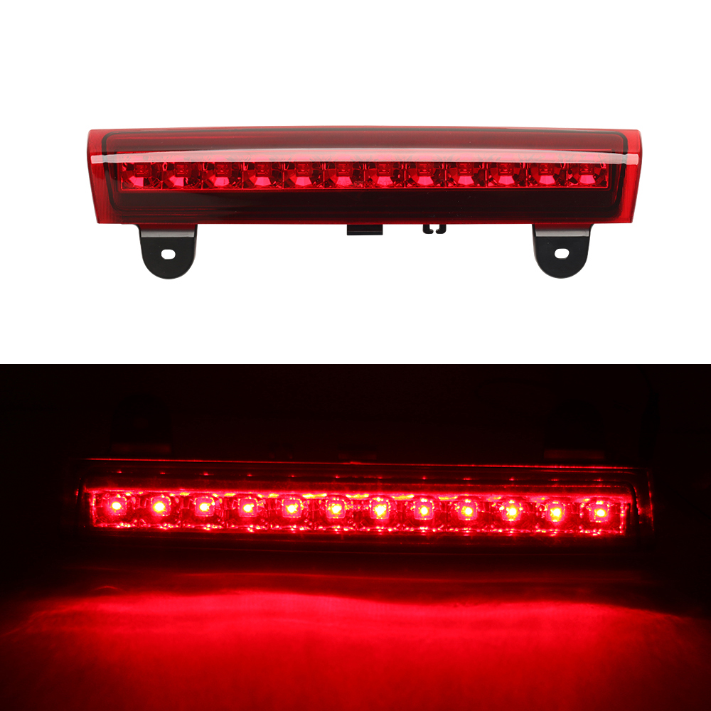 Housing rear roof 12 led 3rd third brake light for 00 06 gmc 92