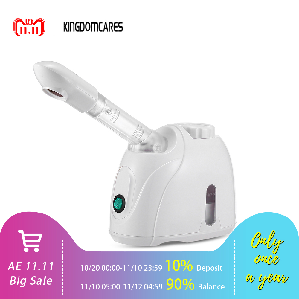 KINGDOMCARES Facial Steamer Mist Sprayer SPA Steaming Machine Beauty Instrument Face Skin Care Tools