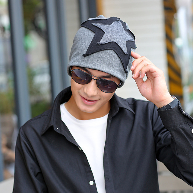 Big Star Beanies Knitted Winter Hat Caps Skullies Casquette Homme Winter  Dad Hats For Men Beanie ce9299d3549