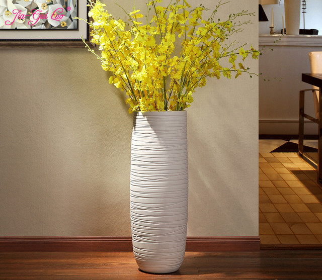 Jia-gui luo  vase for wedding decoration Nordic hand-painted floor  home living room