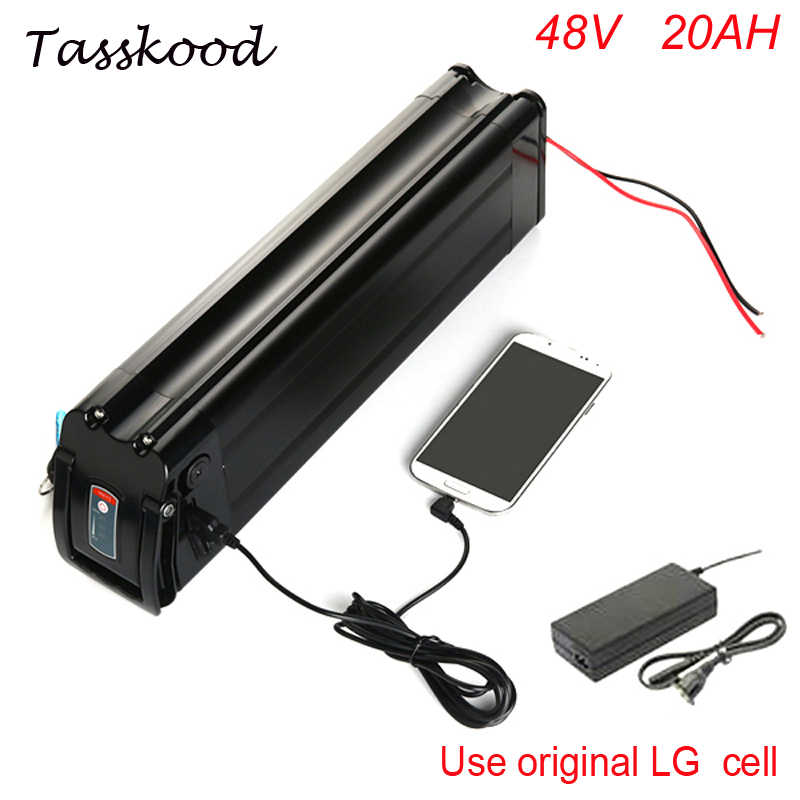 electric bike battery 48v 20ah with  USB port for 48v 20ah lithium ion battery pack fit 48v bafang motor for LG cell