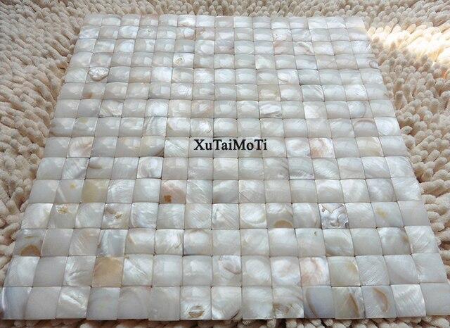 Kiezel Mozaiek Badkamer : D patroon shell mozaïek tegel parelmoer badkamer vloer keuken