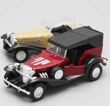 High simulation classic car model, 1: 36 alloy pull back retro car model toy, metal cast 2 open the door, free shipping(China)