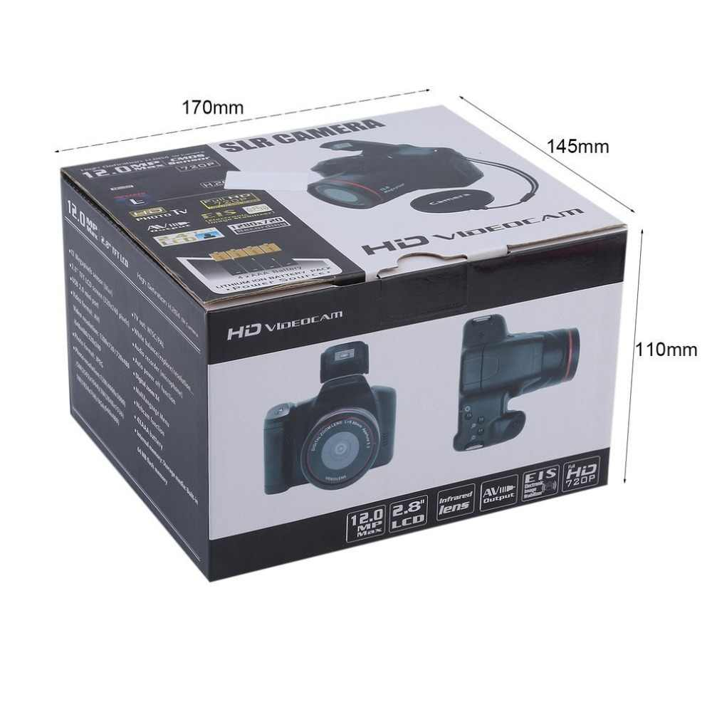 HD דיגיטלי בינוני/ארוך פוקוס אופטי זום SLR מצלמה CMOS פעולה ידנית בית שימוש אנטי Shake DV למצלמות