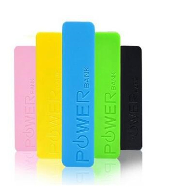 2600mAh power bank 18650 perfume usb portable external battery backup charge shell + motherboard  (without battery)