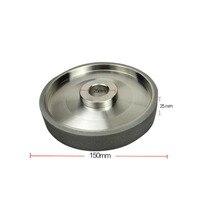 Grinding Wheels DMD100 Grit Diamond CBN Grinding Wheel Diameter 150mm High Speed Steel For Metal stone Grinding Power Tool