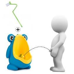 Детские горшок-лягушка унитаз-писуар Pee Trainer настенный туалет Pee Trainer Penico Pinico дети для маленьких мальчиков ванная комната лягушка писсуар
