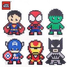 1991Toers Avengers Marvel Superman  Puzzle pixel drawing hanger Diamond Bricks DIY Creative Toys for gift