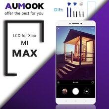 6.44 inç sınıf AAA LCD ekran için xiaomi mi mi MAX ekran dokunmatik ekranlı sayısallaştırıcı grup için mi MAX LCD çerçeve ile çerçeve değiştirme