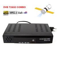 Digital Terrestrial Satellite TV Receiver Dvb T2 S2 COMBO HD 1080P Aut PAL H 264 MPEG