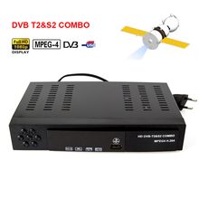 Digital Terrestrial Satellite TV Receiver dvb t2&S2 COMBO HD 1080P Aut /PAL H.264/MPEG-2/MPEG-4/AVS Support Teletext Subtitle