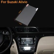 Car Styling 6.5 Inch GPS Navigation Screen Steel Protective Film For Suzuki Alivio Control of LCD Screen Car Sticker
