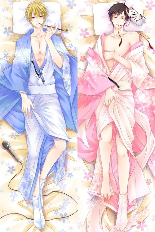 DRRR Shizuo /& Izaya Male Hugging Body Pillow Case BL Anime Dakimakura DuRaRaRa!
