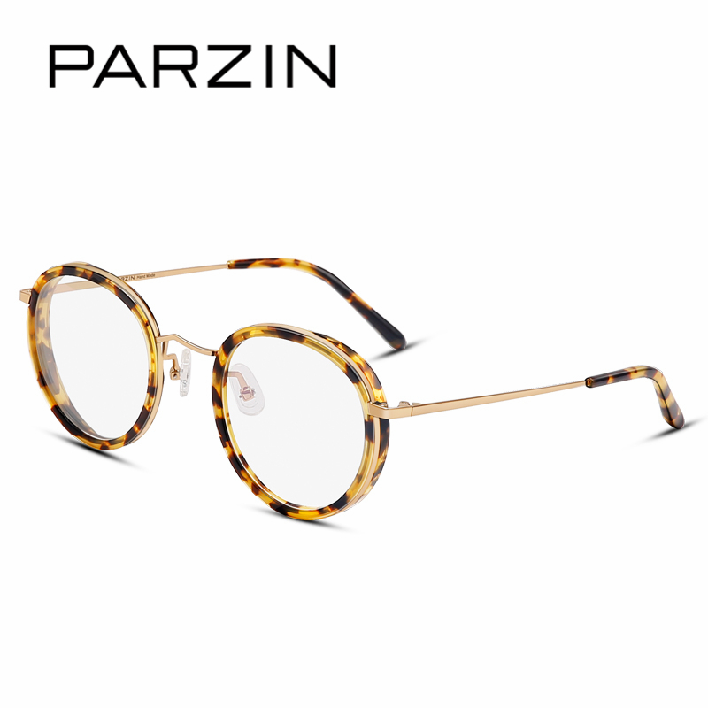 5fe8983d35 PARZIN Professional Prescription Glasses Frames With Clear Lens Quality  Women Big Frame For Myopia Optics Correction Glasses-in Eyewear Frames from  Apparel ...