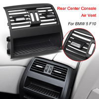 1x Car Rear Center Console Flow In Fresh Air Outlet Vent Grille Grill Cover Air Conditioner Vent Protective for BMW 5 F10 F11