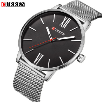 CURREN Classic Design Business Men's Wristwatch Fashion Casual Quartz Male Clock Stainless Steel Band Watches relogio masculino - discount item  47% OFF Men's Watches