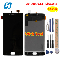 DOOGEE Shoot 1 LCD Display Touch Screen Tool Test Good 100 New Digitizer Screen Glass Panel