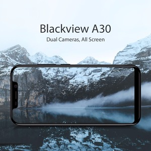 Image 2 - Blackview a30 smartphone Android 8.1 MTK6580 Quad core 19:9 5.5 inch RAM 2GB ROM 16GB 8.0MP 3G WCDMA Face ID GPS mobile phone