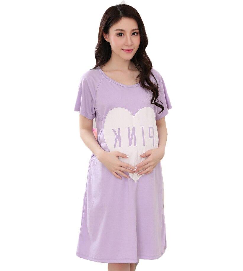 Summer nursing clothes maternal breast feeding Nursing top maternity