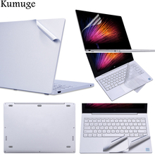 2018 Laptop Sticker for Xiaomi Notebook Mi Pro 15.6 Air 12.5 13.3 Vinyl Decal Laptop Skin for Xiaomi Air 13 +TPU Keyboard Cover us laptop keyboard for xiaomi mi air 13 3 keyboard with backlight silver