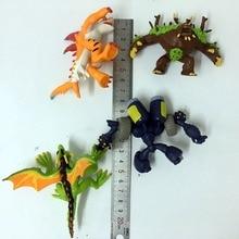 Topคุณภาพยางนุ่ม8 16Pcsไม่มีซ้ำญี่ปุ่นInvizimalsของเล่นเกมออนไลน์Pandaตุ๊กตารูปตุ๊กตาD11